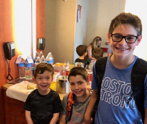 Boys-Getting-Ready-In-Room