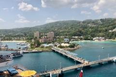 View Of Ocho Rios At Port
