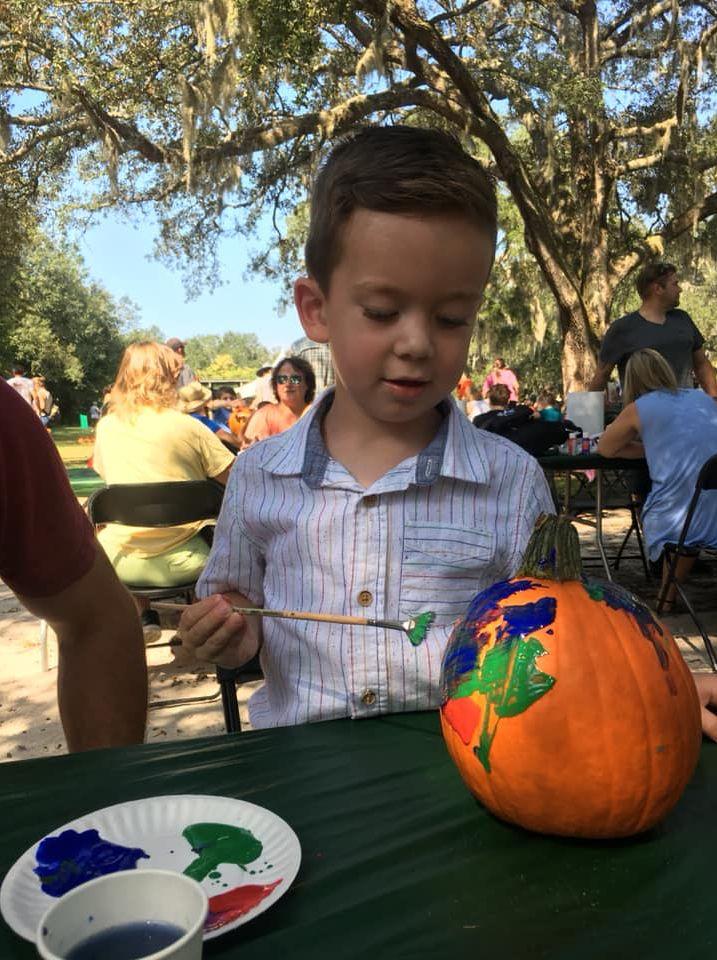 zNolan Pumpkin Art