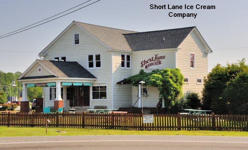VIRGINIA: GLOUCESTER: Short Lane Ice Cream Company